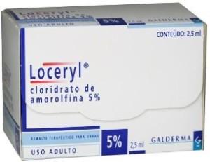 Loceryl: Tratamento para micose de unhas.