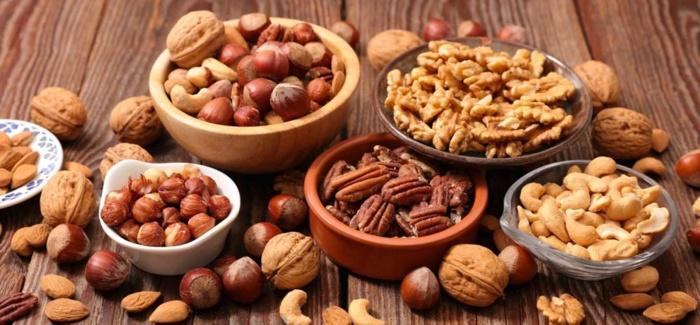Alimentos oleaginosos para complementar sua alimentação