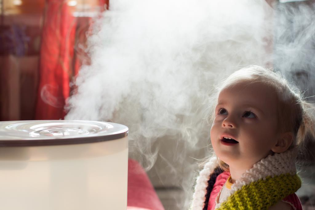 o vapor ajuda a hidratar as mucosas do nariz e fluidar as secreções