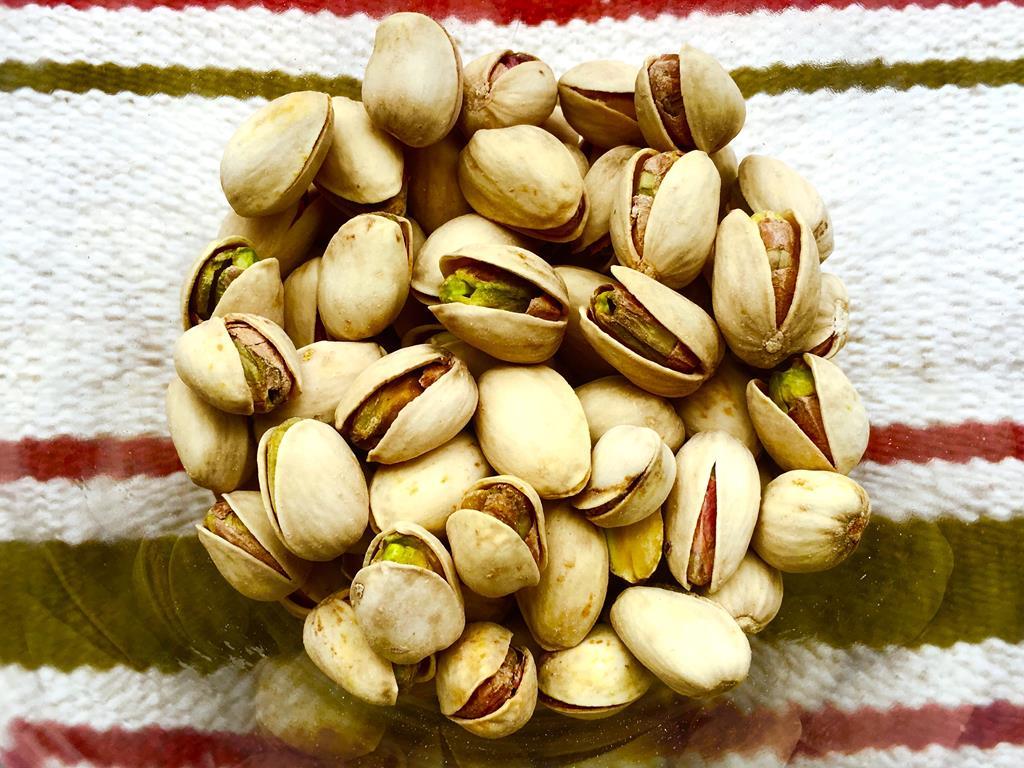 100g de pistache pode ter até 5mg do nutriente