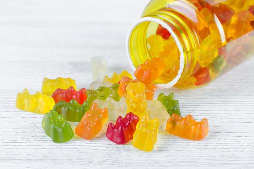 Vitaminas para crianças que gostam de balas