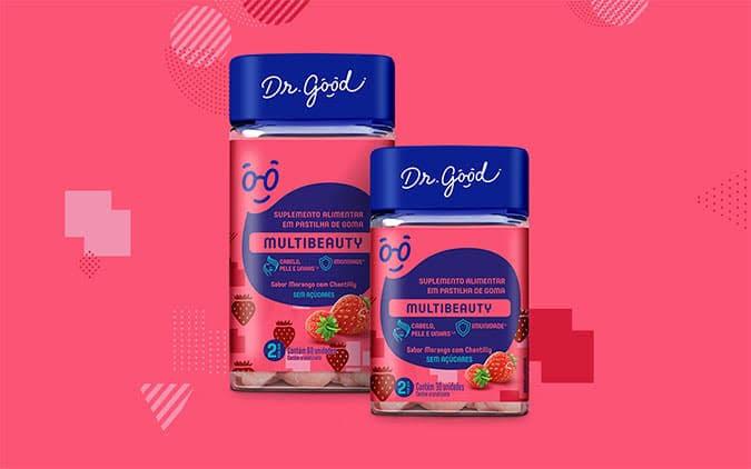 Vitaminas Dr. Good, aqui tem beleza e qualidade