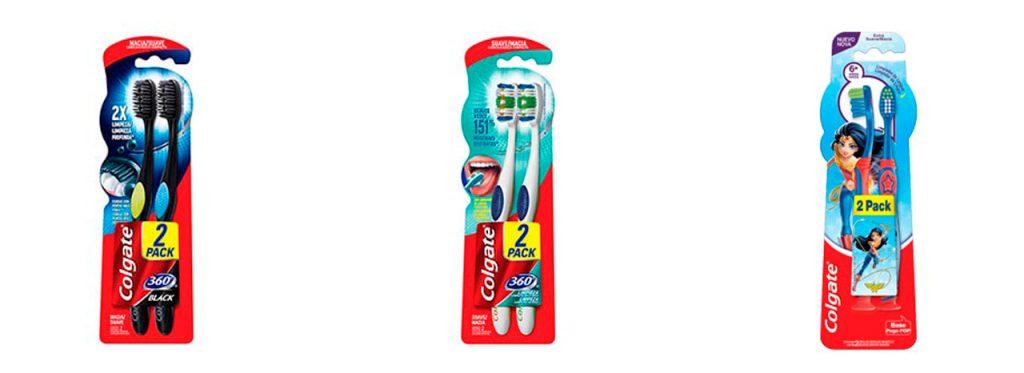 troca de escova de dentes